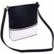 Infinity crossbody kabelka z ekokůže černo bílá 31ba55c926