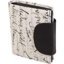 Kožená peněženka ADK SENZA bílo černá