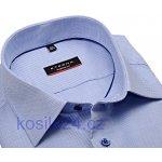 3bb21181744 Eterna Modern Fit Natté – modrá košile s jemnou strukturou - extra  prodloužený rukáv