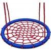 Houpací kruh Woody 85cm červeno-modrý (Woody houpací kruh)