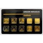 Heraeus SA Švýcarsko Multicard zlaté slitky 10 x 1 g