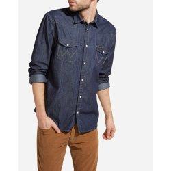dd061825851 Wrangler Western Denim Shirt Pánská džínová košile W5973O7WE od 1 ...