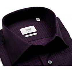 Pánská Košile Eterna Modern Fit 1863 – fialová košile s vetkaným vzorem 838ae8dc8c
