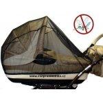 Dětský svět Síť proti hmyzu na kočárek ČERNÁ