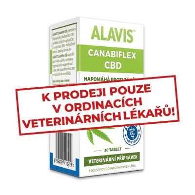Alavis Canabiflex CBD 30 tbl