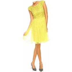 c672c5cf6e8 Ashley Brooke event návrhářské společenské šaty žlutá