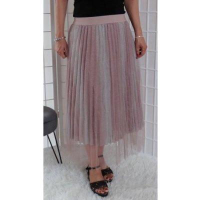 Barevná tylová sukně barevná Vionnetta TS5894