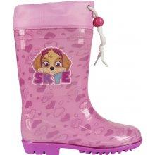 Disney Brand Dívčí holnky Paw Patrol - růžové