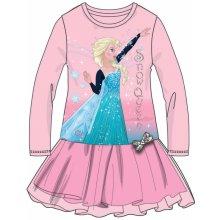 84c9213f46d Disney by Arnetta Dívčí šaty Frozen růžové