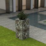 zahradaXL Ocelový gabionový truhlík 50 x 50 x 100 cm