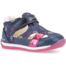 Geox Dívčí sandály Each modro-růžové 451700f9c1
