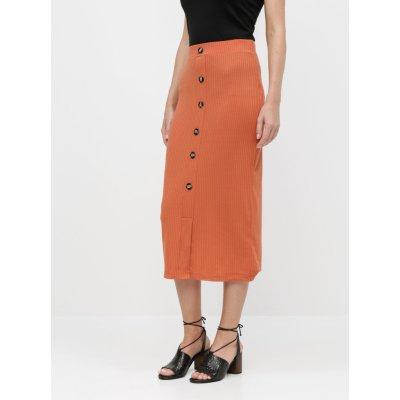 Tally Weijl pouzdrová sukně cihlová