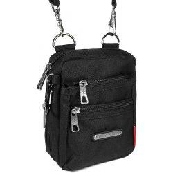 ac2aa0a32e Enrico Benetti pánská taška na doklady Marco černá. Představujeme Vám malou pánskou  tašku přes rameno ...