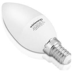 Whitenergy LED žárovka SMD2835 C37 E14 7W teplá bílá