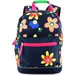 Target batoh Květiny černý