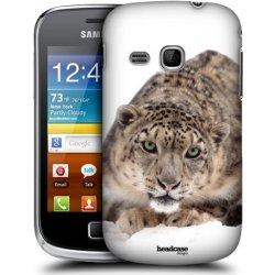 Pouzdro na mobilní telefon Pouzdro HEAD CASE Samsung galaxy MINI 2 příroda zvířata sněžné leopard na leďě