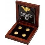 Česká mincovna Sada čtyř zlatých mincí Československá letecká esa ve službách RAF 31,1 g