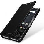 Pouzdro StilGut Book Type bez klipu BlackBerry KEYone černé
