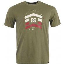 DC Startra T Shirt Mens Charcoal