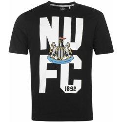 823bf76ee NUFC Newcastle United Crest T Shirt Mens Black alternativy - Heureka.cz