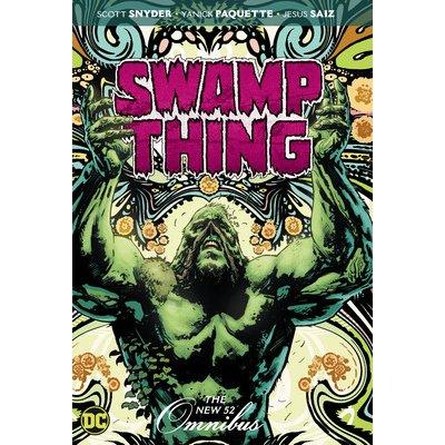 Swamp Thing: The New 52 Omnibus Snyder ScottPevná vazba
