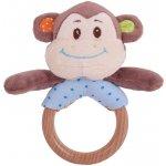 Bigjigs Toys Chrastítko kroužek opička Cheeky