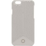 Pouzdro Mercedes-Benz Apple iPhone 6 / 6S Perforated Back šedé