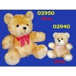 HAMIRO PLUS Plyšový medvěd Pepa 25 cm 40 cm
