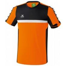 Erima 5-CUBES TRIKO KRÁTKÝ RUKÁV PÁNSKÉ Oranžová, Černá, Bílá