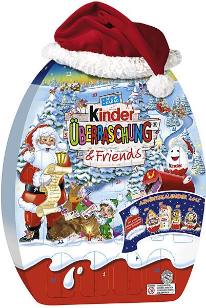 kinder adventni kalendar Kinder adventní kalendář s čepicí 431g alternativy   Heureka.cz kinder adventni kalendar