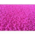 Vopi kulatý Color shaggy růžový