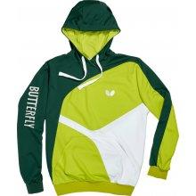 BUTTERFLY Ryo mikina zelená