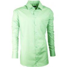 2a7b39e090c Assante Slim Fit pánská Košile prodloužená pánská Košile Zelená 20502