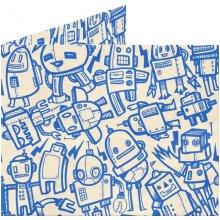 Dynomighty Papírová peněženka All Of The Robots