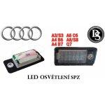 Audi A3, A4, A6, A8, Q7 03-09 Osvětlení SPZ