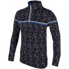 CMP pánský svetr Dryarn black/blue L/50