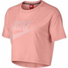43dffc1a29a3 Nike NSW ESSNTL TOP CROP SS W AA3144-697 růžové