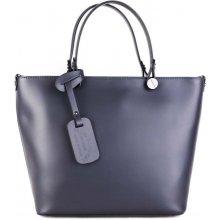 bcfe463f95 Vera Pelle kožené kabelky na rameno Merana modré