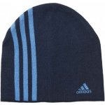 Adidas PERFORMANCE 3 STRIPES BEANIE modrá OSFM