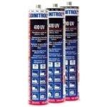 DINITROL 410 UV karosářský lepící a těsnící tmel 310g černý