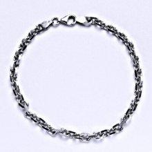 Čištín Stříbrný silný náramek 6 5913