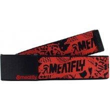 Meatfly Pásek Mosh Belt C - Red/Black