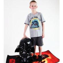 set chlapecký tričko kraťasy TV MANIA Angry Birds Star Wars Grey SWAB 338