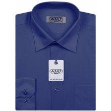 Pánská košile AMJ Classic tmavě modrá 12d07622d4