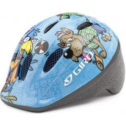 Přilba, helma, kokoska Giro Me2 light blue animals 2017