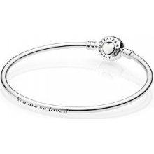 Pandora stříbrný náramek pro milovanou ženu 590746EN23