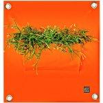 The Green Pockets Kapsář na květiny PEVA 50x45 cm, oranžová