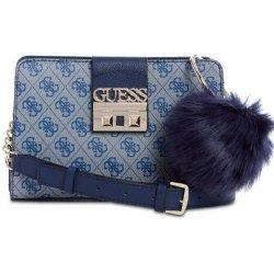 b5572f139 Guess Logo Luxe Girlfriend crossbody modrá kabelka - Nejlepší Ceny.cz