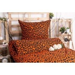 Xpose bavlna povlečení Xenie Duo Exclusive oranžová 140x200 70x90