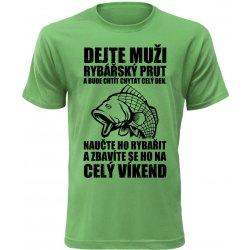 Pánské vtipné tričko jak se zbavit rybáře zelené alternativy ... 7ddd5384d6